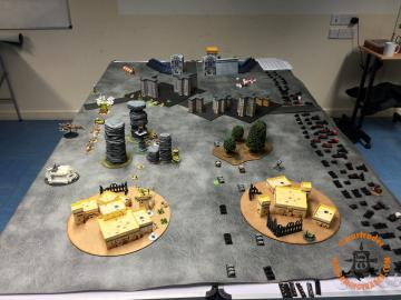 Deployed armies, first table end.