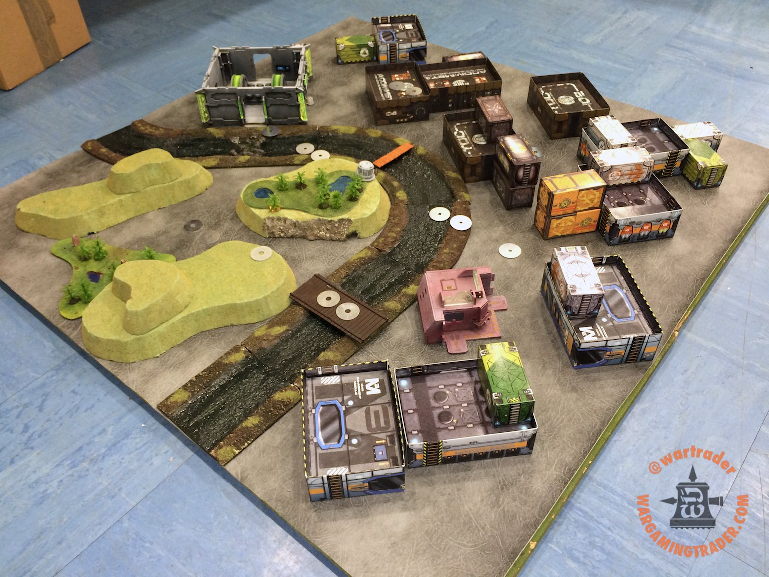 Table Layout Inspiration: Redux | Corvus Belli Community Forum