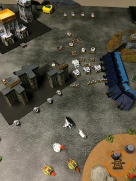 White Scars: other Tacticals Double and kill a Vindicator and the Hulk!
