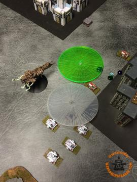 Death Guard: Spacecraft arrives, one BM on Scouts, two on Predators.