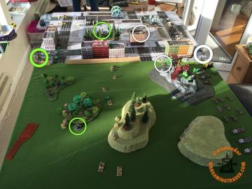 Objectives from my right flank.