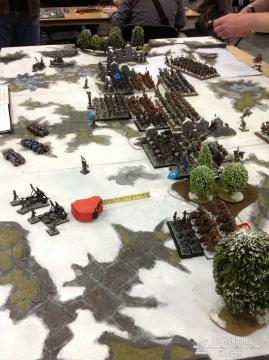 Kings of War on a GW table!