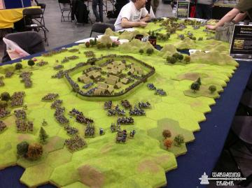 Good use of hex terrain.